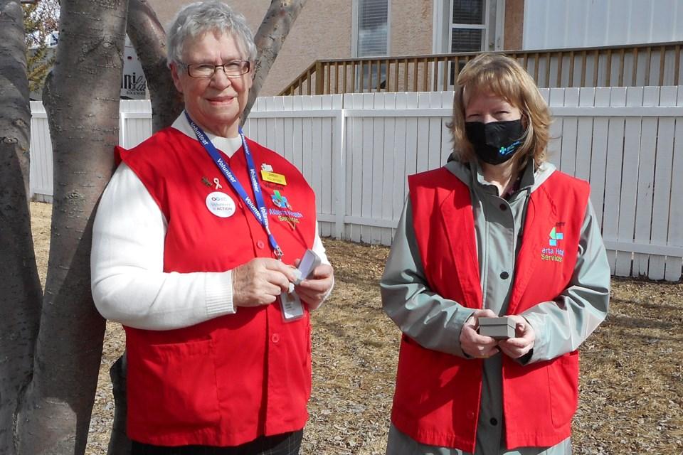 MVT Shirley Thompson volunteer