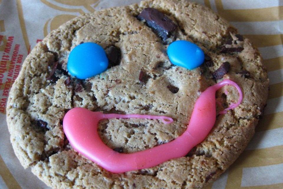 MVT smile cookie