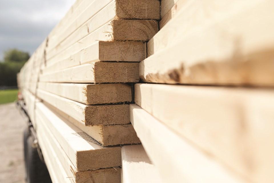 MVT stock lumber