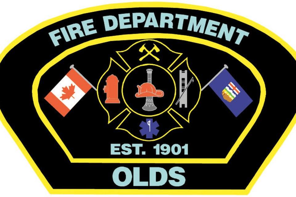 MVT stock Olds Fire Department crest