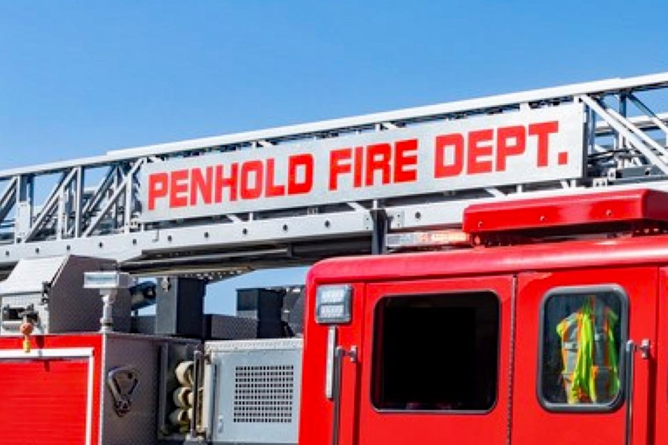 MVT stock Penhold Fire Department truck