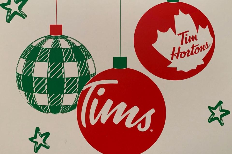 MVT Tim Hortons box