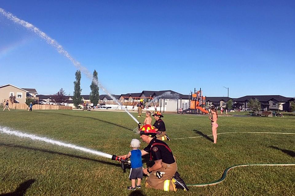 Penhold firefighters community