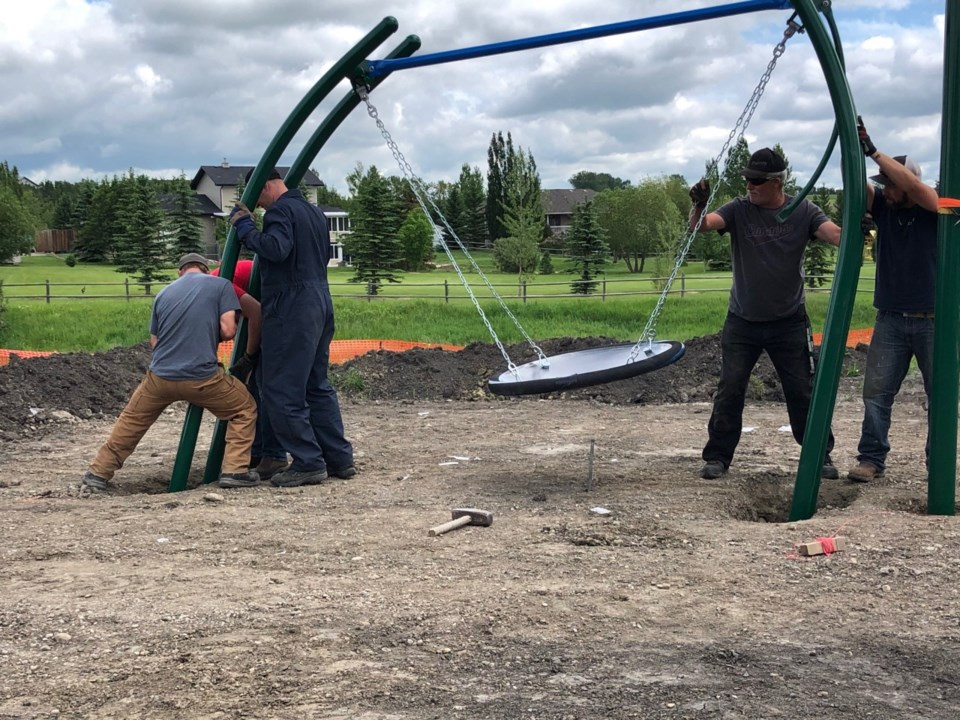 playground a community effort