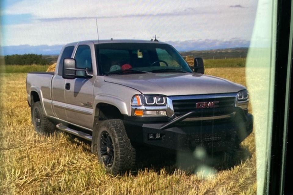 police seek stolen truck