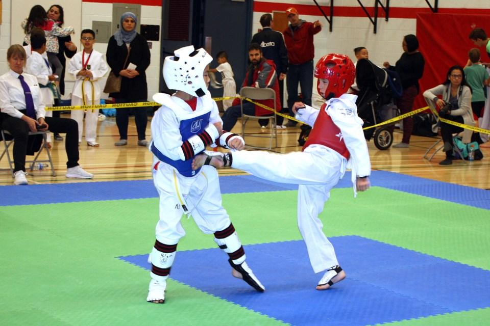 taekwondo championship 1