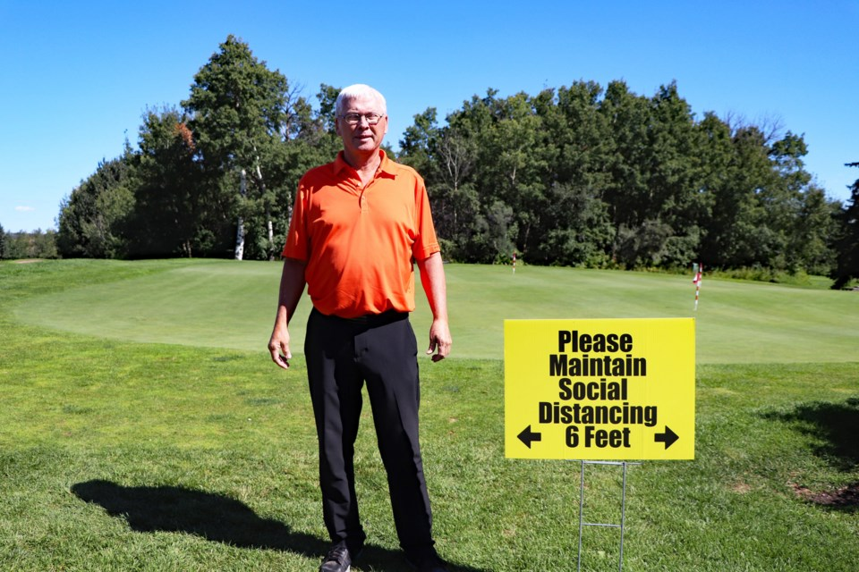 Jim Boomer, the Innisfail Golf Club's head golf professional, said the club has had a successful year  navigating through the challenges presented by the COVID-19 pandemic. Johnnie Bachusky/MVP Staff