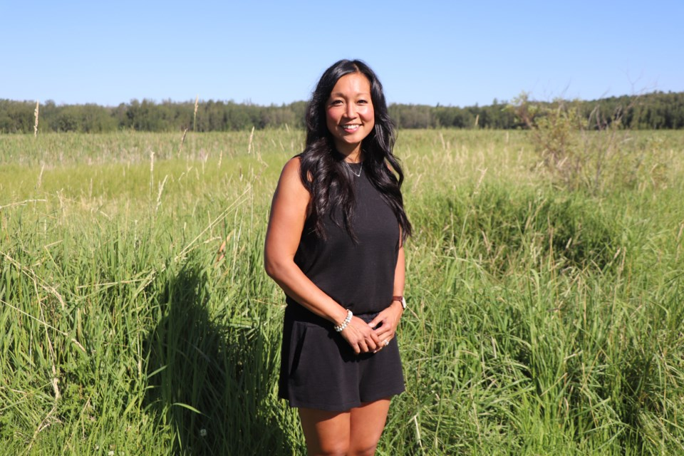 Tasha Busch is a 40-year-old Chinese-Canadian happy to live in Innisfail but while the once native of Vancouver loves her adopted community she believes the time is right for the town to seriously look at the issue of racism.  Johnnie Bachusky/MVP Staff