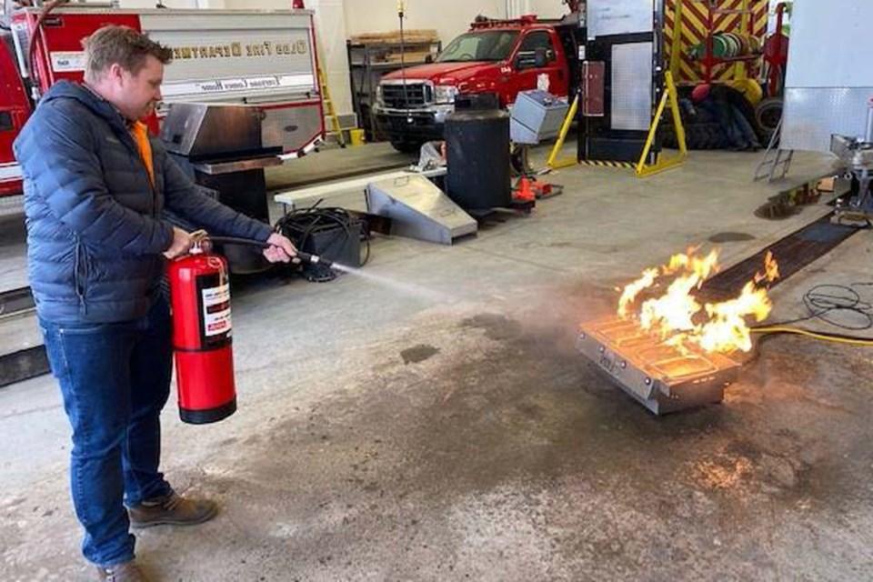 WebOFD Fire Extinguisher Training 2