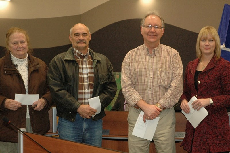 These groups received grant cheques