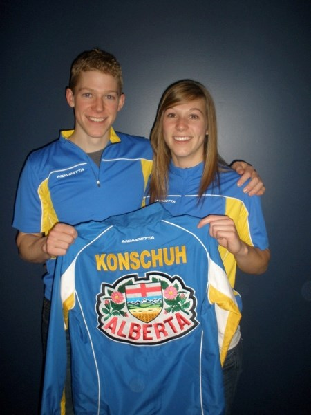 Parker and Becca Konschuh