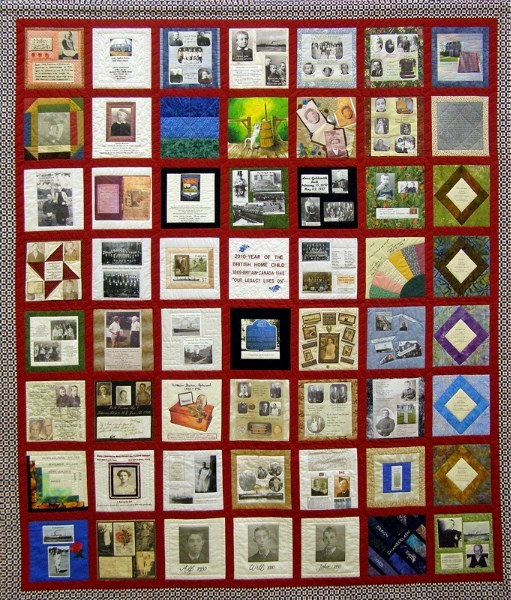A beautiful quilt of remembrance