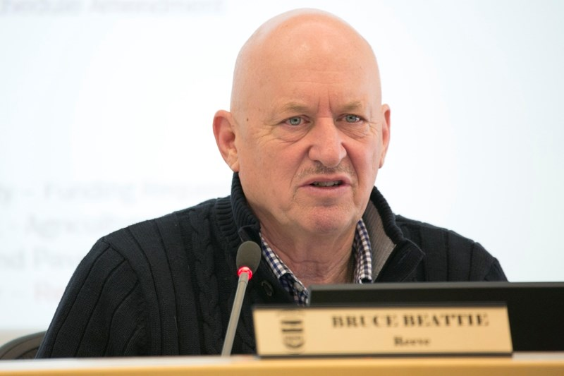 Mountain View County reeve Bruce Beattie is the county's representative on the watershed group.