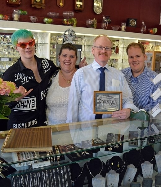 Geo T. Ingham and Son Jewellers Ltd. is celebrating 100 years in the community. The local business held an open house May 13 to mark the historic milestone. Owner Garth