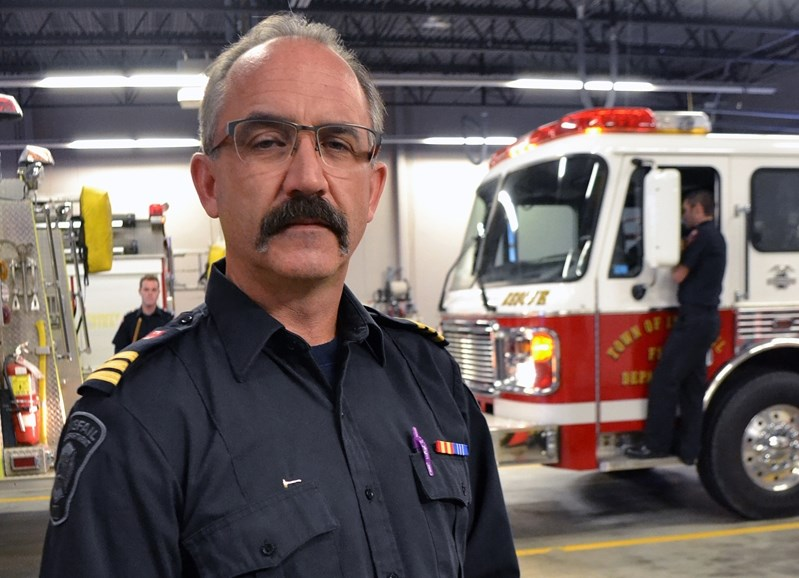 Tim Ainscough, assistant deputy chief of the Innisfail Fire Department, said members were not consulted about the new remuneration policy.