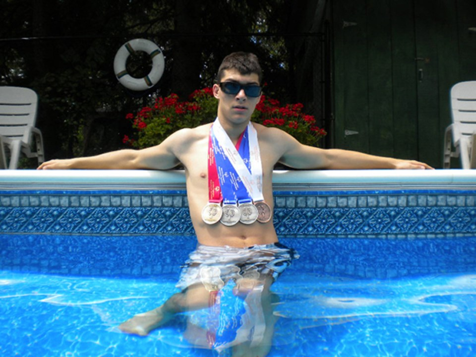 Sam Rahbek-Ward recently returned from the Special Olympics Canada Summer Games in London, Ont. Rahbek-Ward landed four medals at the event.