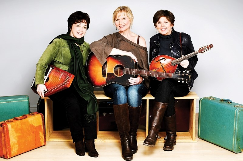 All-female trio Rankin, Church & Crowe will kick off the Olds Kiwanis Performing Arts Society's concert series this Thursday at 7:30 p.m. with its layered vocal