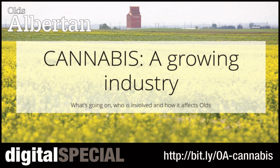 THIS WEEK: Spokesperson Toby Williams says it's too early to say what role Olds College will play in the local marijuana industry.