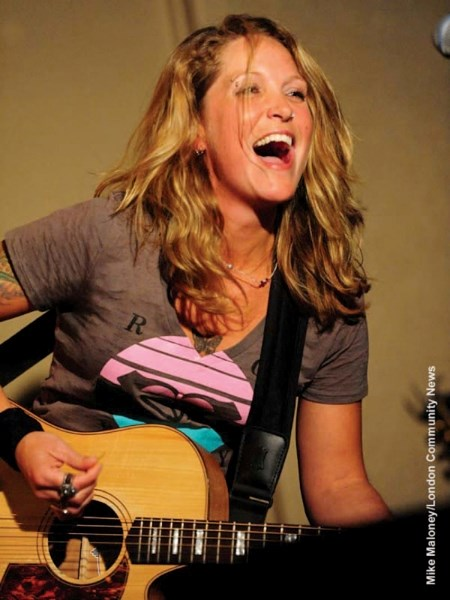 The Joys lead singer Sarah Smith is venturing out on her own and will be playing Tracks April 20.