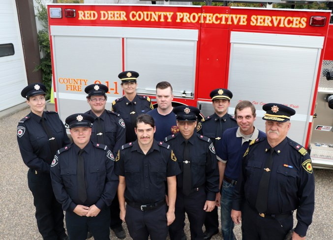 WebBowden firefighters FPW 2019