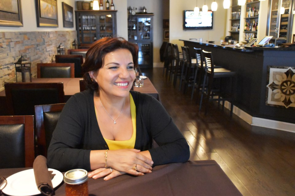 Melanie Sala is co-owner of Luna Ristorante on Yonge Street in Newmarket. Joann MacDonald for NewmarketToday