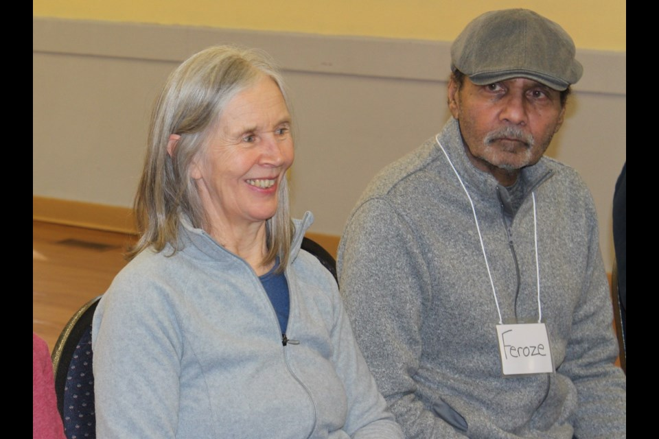 Jennifer Dance Bowen and her husband, Feroze Mohammed, who has Alzheimer's disease, signed up for The Music Project. Supplied photo/Alzheimer Society of York