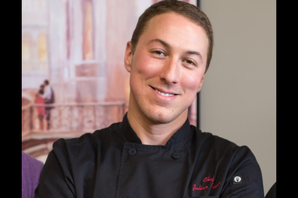 Chef Julian Pancer is hosting a Mother's Day virtual cooking class, We Love You a Brunch, Mom.