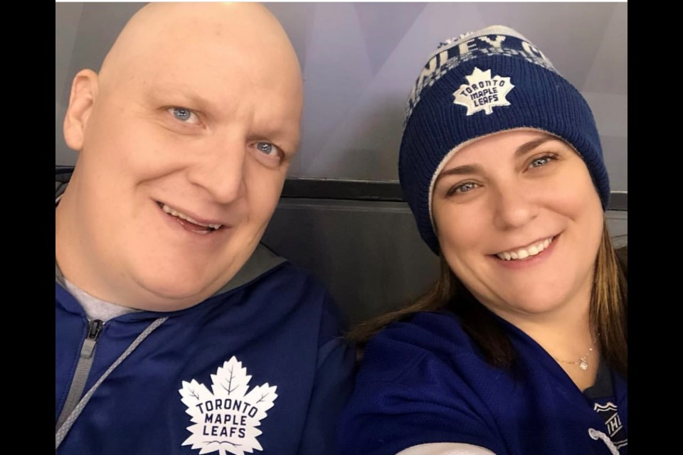 Kristy Ahola is determined to raise awareness and funds following her husband Nic's diagnosis of multiple myeloma, a little known and incurable blood cancer. Supplied photo/Myeloma Canada