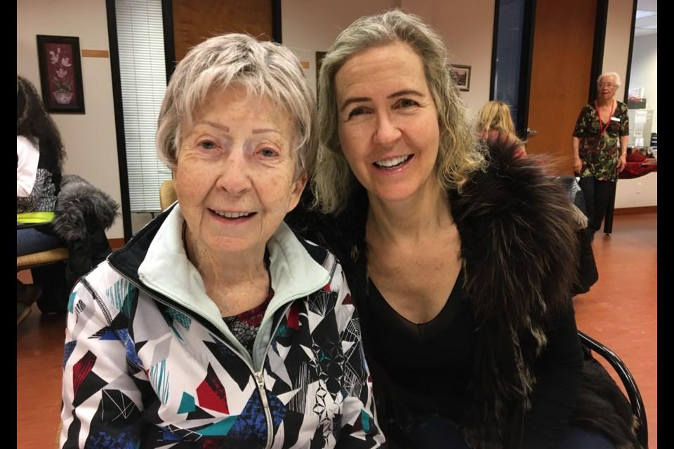Kerri Thompson, with her mother, Joyce. Photo courtesy of Kerri Thompson