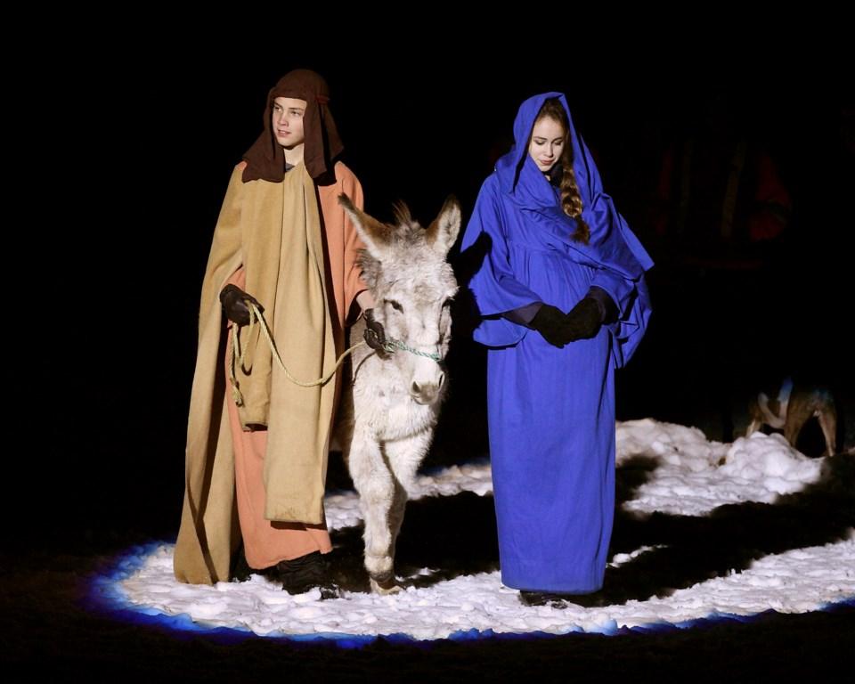20191111 live nativity pageant
