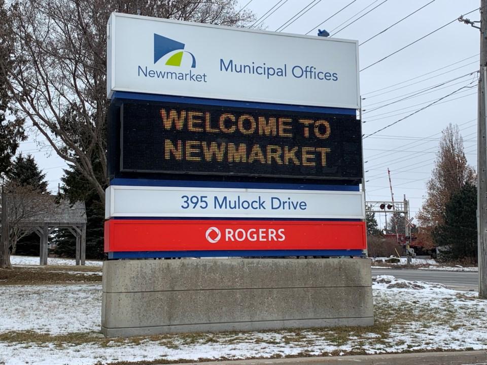 2020 municipal office sign DK
