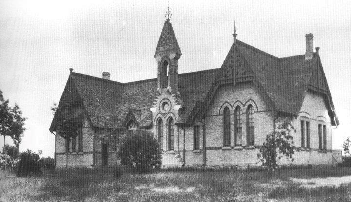 Newmarket's second high school at Pearson and Prospect streets, was destroyed by fire in 1893.