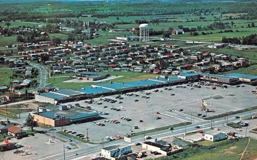 The Newmarket Plaza, 1964.