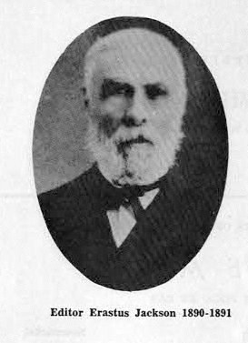 Erastus Jackson was the influential owner and editor of The Era from 1854 to 1883.