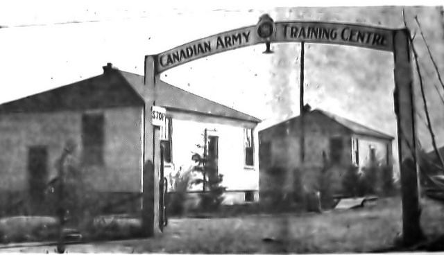 When the Town of Newmarket's planned community floundered, the land was leased for a military camp during the Second World War.