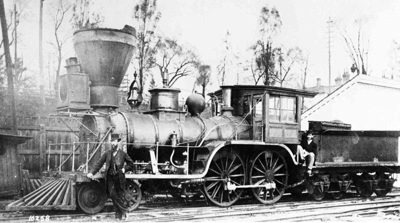 Engine No. 1, the Lady Elgin.