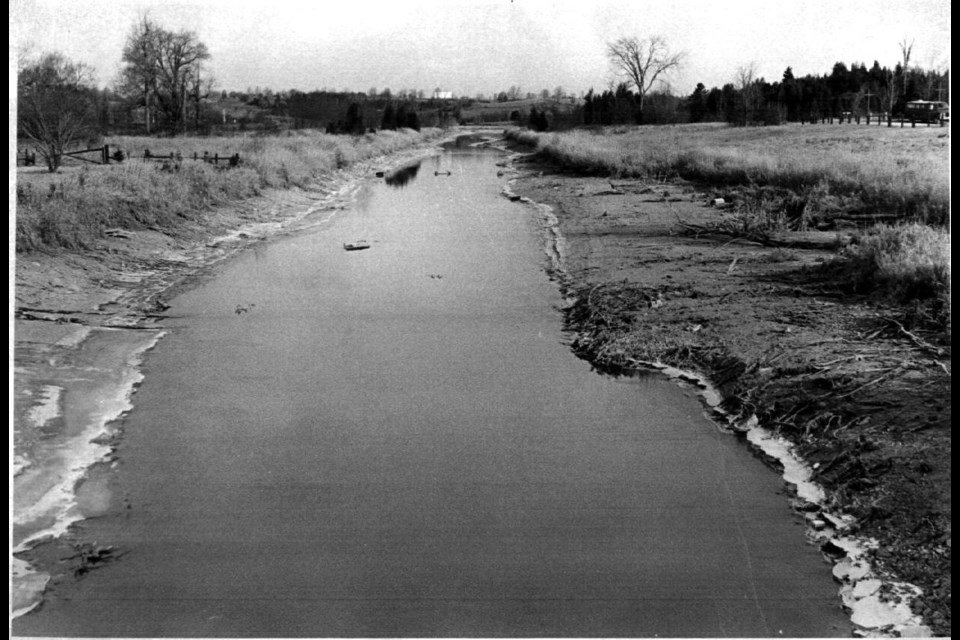 The Holland River.