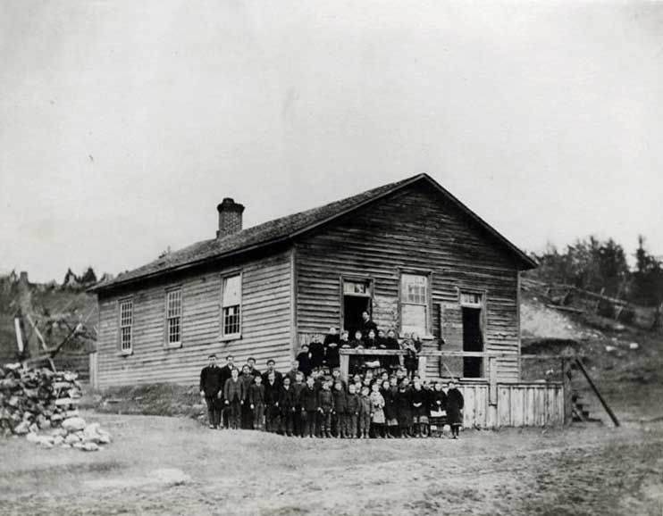 The Glenville School, 1839 to 1959.