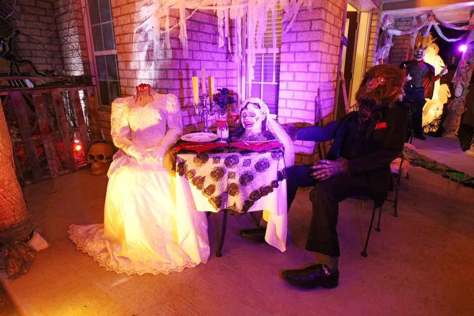 You're invited for dinner with the bride and the beast at 1 Harvest Hills Blvd ... if you dare. Greg King for NewmarketToday