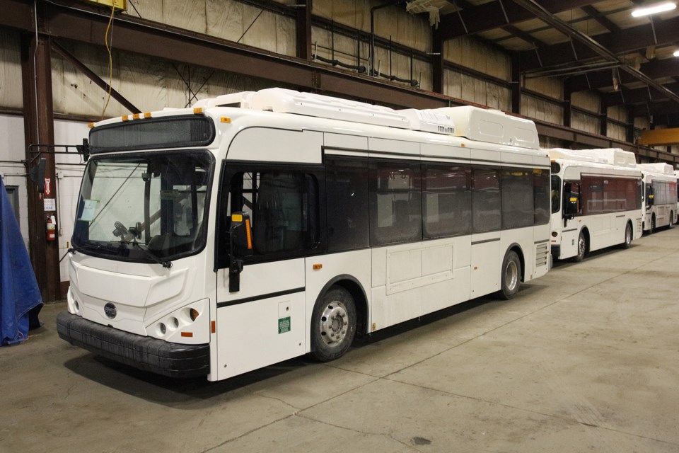 The Réseau de Transport de Longueuil (RTL), one of the largest public transit systems in Canada, will receive five battery-electric BYD buses by the end of the month.  Greg King for NewmarketToday