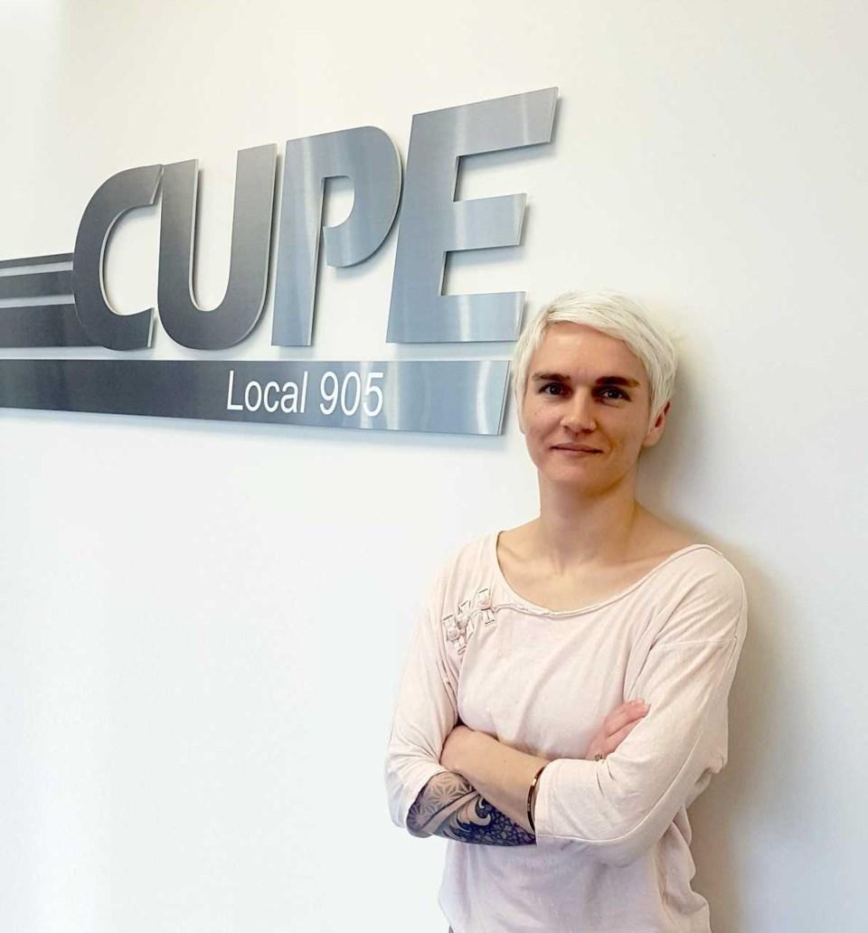 Katherine Grzejszczak CUPE 905 president
