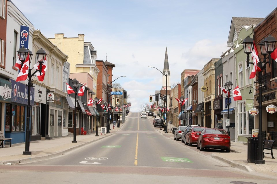 Main Street Newmarket. File photo/Greg King for NewmarketToday
