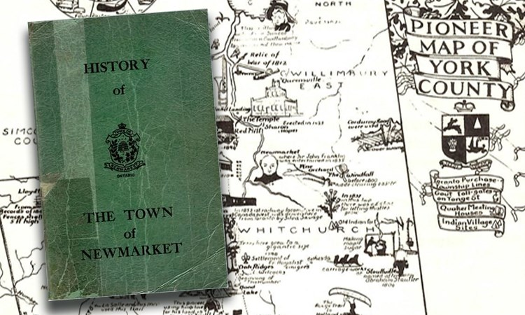 Rare book History of the Town of Newmarket