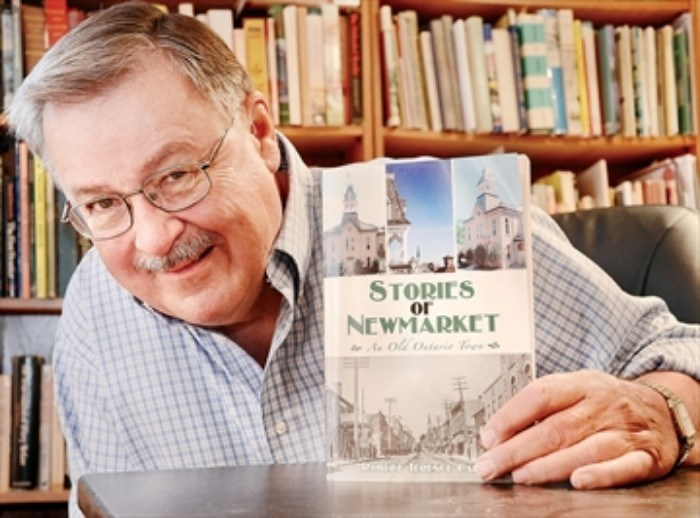 Local historian and author Terry Carter.