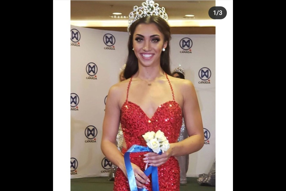Olympic figure skater Gabby Daleman will compete for the Miss World Canada 2020 title in November. Instagram photo