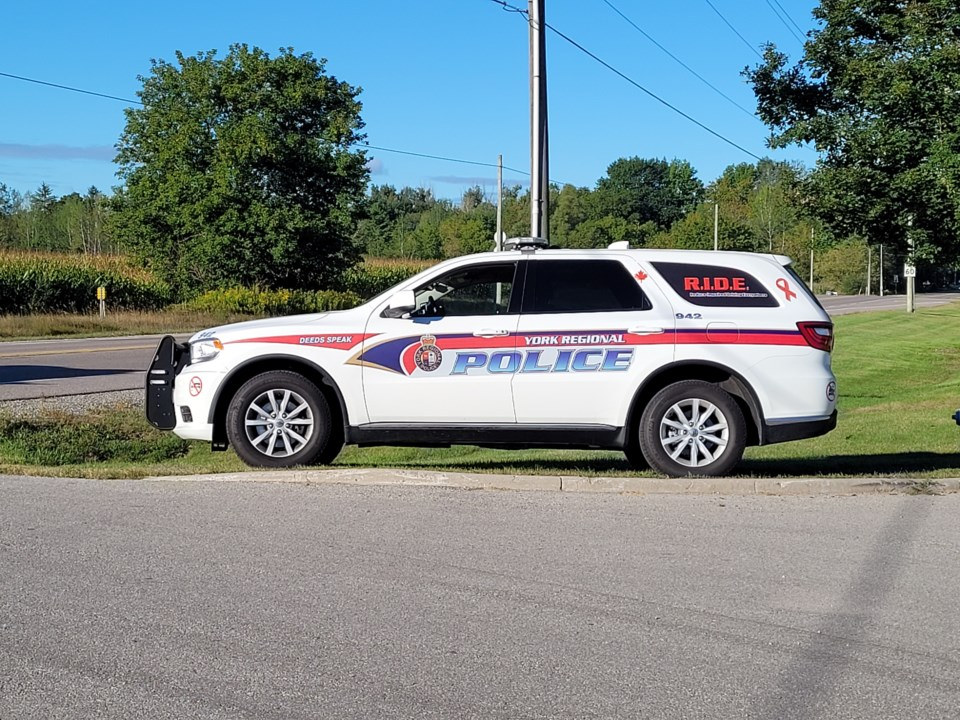 2021 09 09 York Regional Police car stock