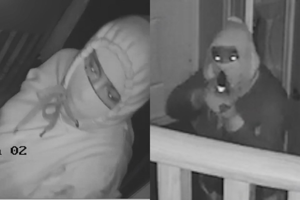 Vaughan home invasion suspect images provided by York Regional Police