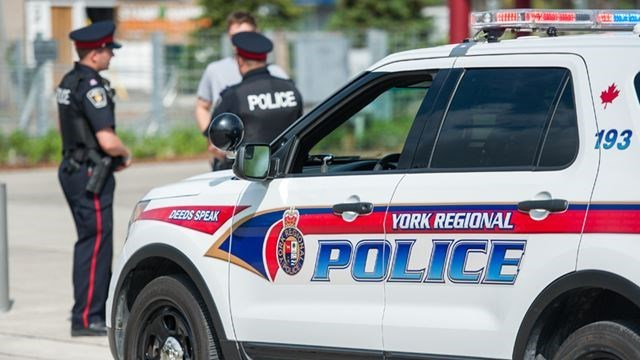 YRP crime scene police car