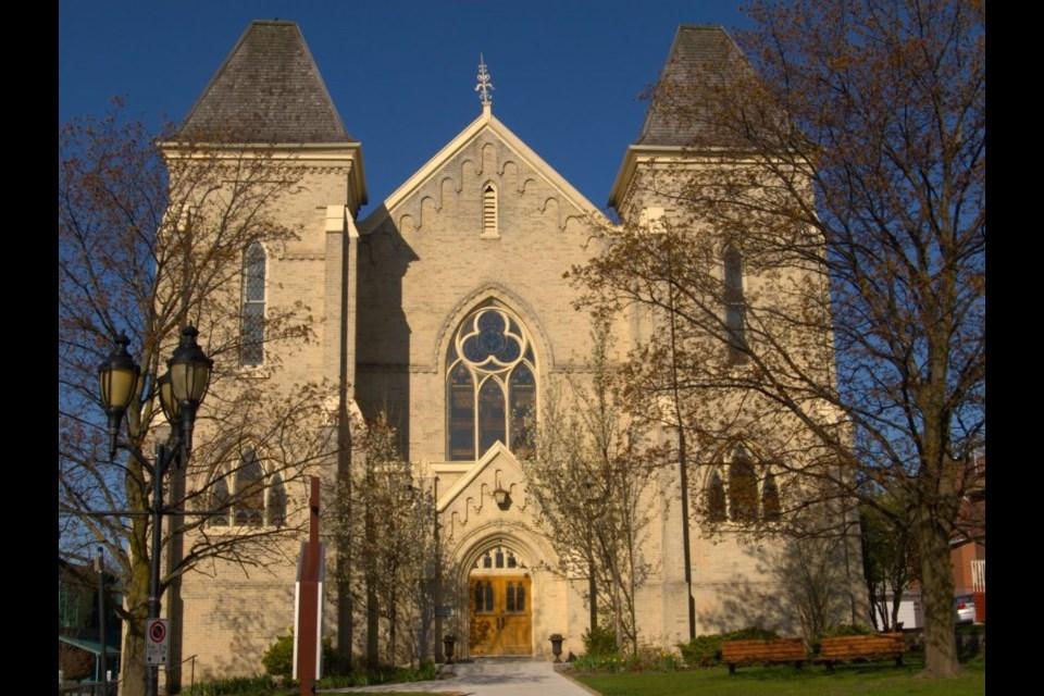 Trinity United Church today. Supplied photo