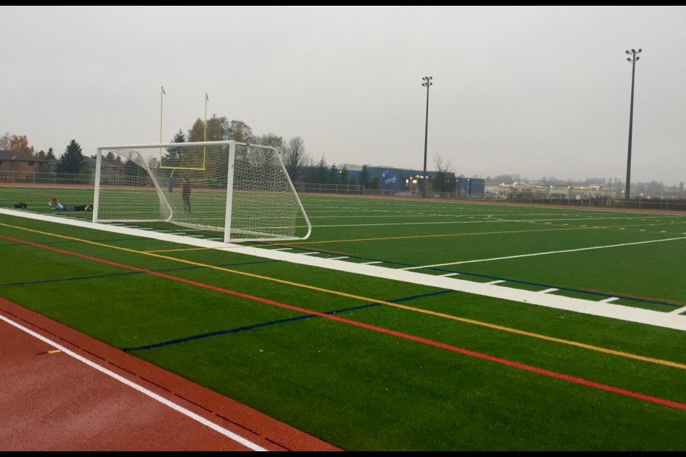 Newmarket Opens Its First Outdoor Artificial Turf Sports